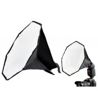 AccPro Octagonal Mini Flash Diffuser Soft Box for Speedlight - 30cm [LS-07]
